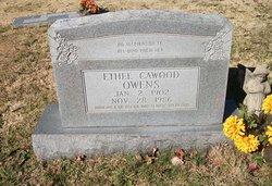 Ethel <i>Thedford</i> Cawood Owens