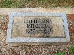Lottie Ann <i>Maddox</i> Mitchell