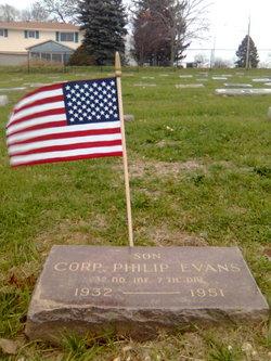 Corp Phillip J. Evans