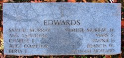 Ann <i>Saunders</i> Edwards