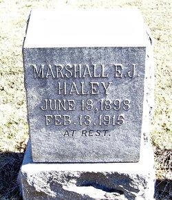 Marshal E J Haley
