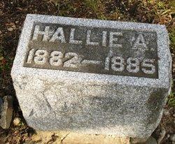 Hallie A Bowdish
