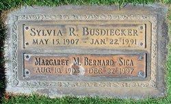 Sylvia R Busdiecker