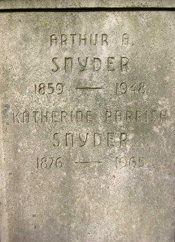 Dr Arthur Augustine Snyder