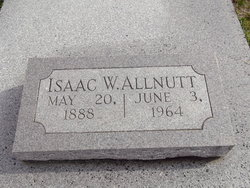 Isaac W Allnut