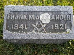 Frank M Alexander