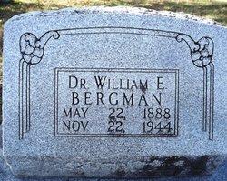 Dr William Edward Bergman, Sr