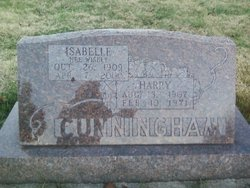 Mildred Isabelle <i>Wisely</i> Cunningham