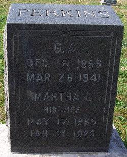 Martha Louise <i>Akin</i> Perkins