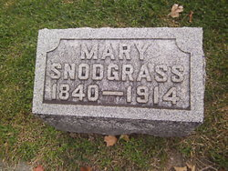 Mary <i>Stout</i> Snodgrass