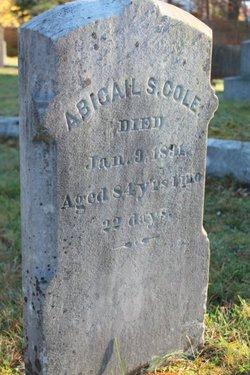 Abigail Shaw Cole