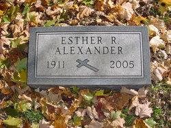 Esther R. <i>Stoeckinger</i> Alexander
