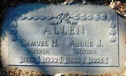 Judith Anne Genetta Annie <i>Armstrong</i> Allen