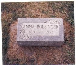 Anna <i>Sickels</i> Bolsinger