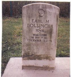Earl Bolsinger