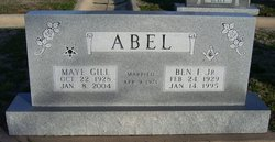 Maye <i>Gill</i> Abel