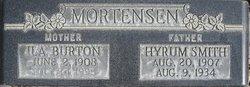 Ila <i>Burton</i> Mortensen