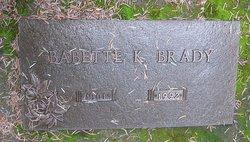 Babette K Brady