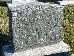 E H Alexander