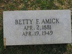 Betty <i>Foster</i> Amick