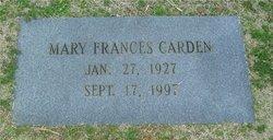 Mary Frances Carden