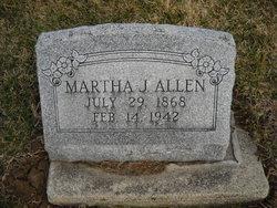 Martha J. Mattie Allen