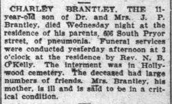 Charles Charley Brantley