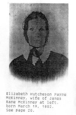 Elizabeth Hutcheson <i>Payne</i> McKinney