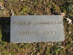 Cora <i>Marshall</i> Summerson
