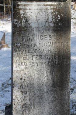 Frances C <i>Barto</i> Willits