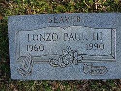 Lonzo Beaver Paul, III
