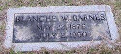 Blanche <i>Webb</i> Barnes