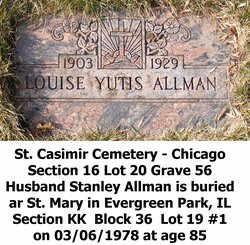 Louise <i>Yucius</i> Allman