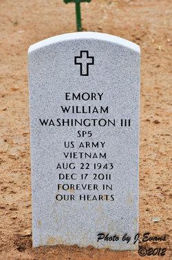 Emory William Washington, III