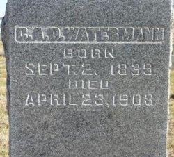 Elizabeth <i>Herman</i> Watermann