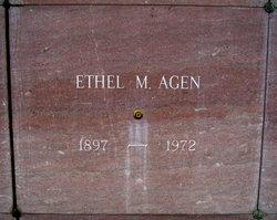 Ethel M. Agen