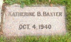 Katherine B Baxter