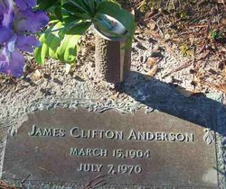 James Clifton Anderson