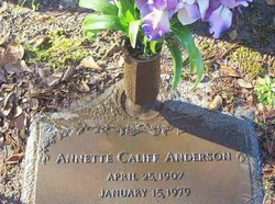 Annette <i>Califf</i> Anderson