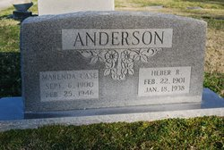 Marenda <i>Carr</i> Anderson