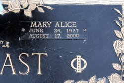 Mary Alice <i>Richardson</i> Arbogast