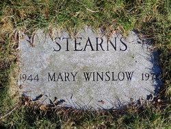 Mary <i>Winslow</i> Stearns