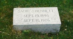 Sarah Jane Sadie <i>Ward</i> Bennett