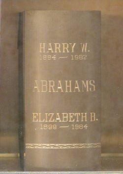 Harry Williams Abrahams