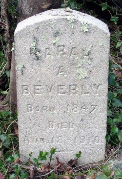 Sarah A. Beverly
