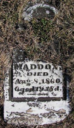S. T. Maddox