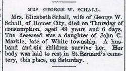 Mary Elizabeth <i>Merkle</i> Schall