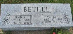Violet Gertrude <i>Logan</i> Bethel