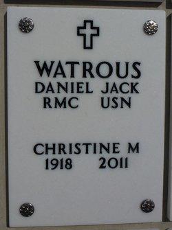 Christine Margaret Watrous