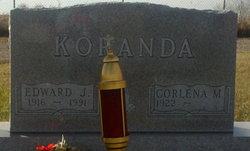 Edward J Koranda